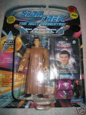 Star Trek TNG Next Generation Captain Jean-Luc Picard Romulan Playmates Action Figure New