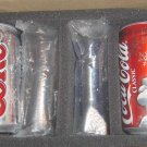 Coca Cola Polar Bears Santa Christmas Rare Unused Cans Classic Diet Coke