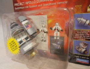 NASA Project Apollo Command and Service Module Playset Star Trek Astronaut Mission