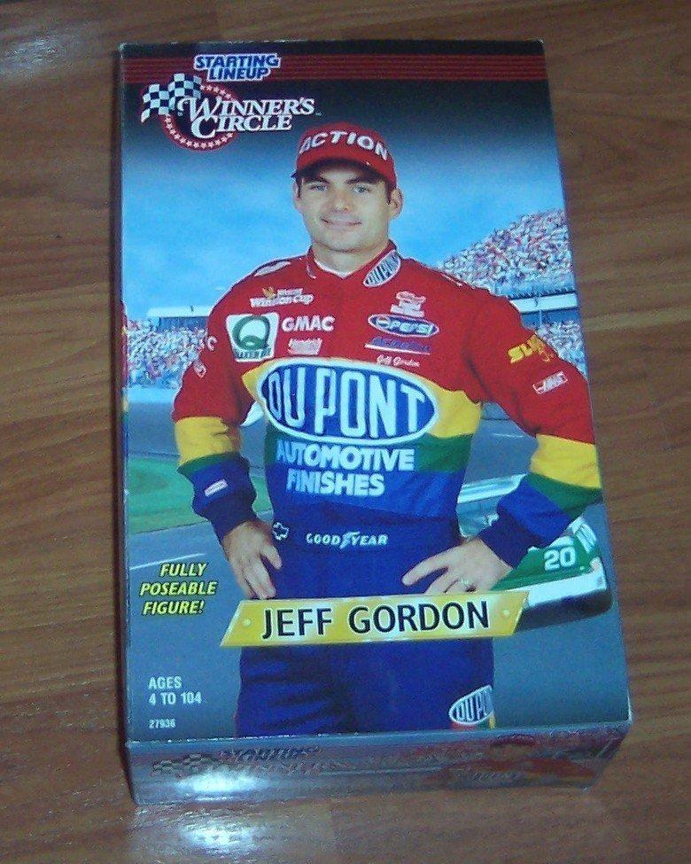 "Jeff Gordon SLU 1997 Starting Line Up 12"" Doll Action"