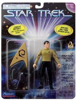 Lt Cmdr Scott Star Trek Classic Playmates James Doohan Action Figure Spencers