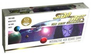 STAR TREK Next Generation INTERACTIVE VCR BOARD GAME Klingon Challenge Complete