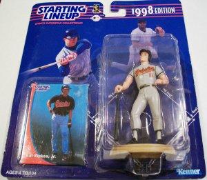 1998 STARTING LINEUP CAL RIPKEN JR MLB SLU Orioles Ironman Action Figure New Baltimore