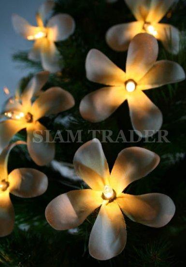 100 BULB WHITE FLOWER PARTY / CHRISTMAS STRING LIGHT