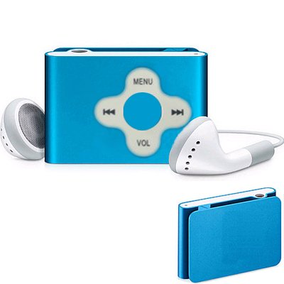 MP3 PLAYER SHUFFLE 2GB (6 PIECES)