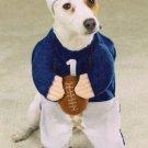 LARGE Football Fever Pet Halloween Costume Dog
