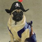 X-LARGE Pirate Pup Halloween Pet Costume Dog Ahoy Matey