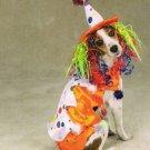 LARGE Class Clown Pet Halloween Dog Costume