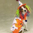 MEDIUM Class Clown Pet Halloween Dog Costume