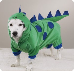 X-SMALL Dogzilla Dinosaur Pet Halloween Dog Costume