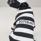 MEDIUM Prison Pooch Pet Halloween Dog Costume