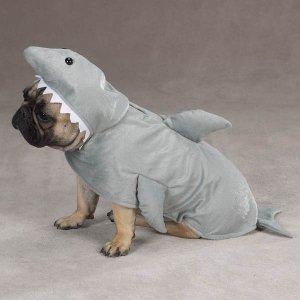 & X-SMALL Land Shark Pet Halloween Dog Costume
