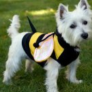 LARGE Bumblebee Buzz Halloween Dog Costume