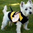 MEDIUM Bumblebee Buzz Halloween Dog Costume