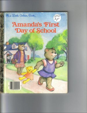 AMANDAS FIRST DAY OF SCHOOL