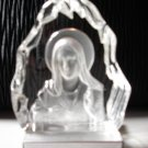 Crystal Madonna Sculpture