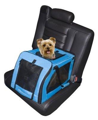Soft Car Dog Seat/ Carrier - Small in Aqua