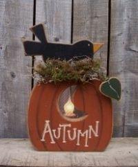 Autumn Woodworking Pattern