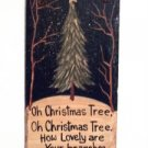 Christmas Tree Slate Sign