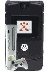 T-Mobile Motorola RAZR V3 + FREE XBOX 360 Mobile Phone