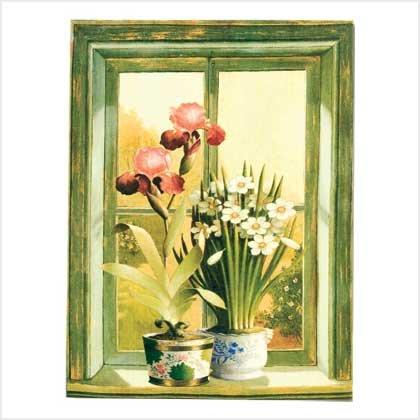 Floral Potted Plants Print