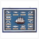 Wood Nautical Shadow Box