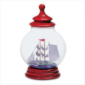 Ship in a Red Lantern