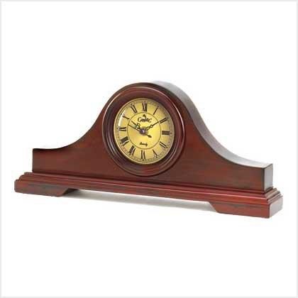 Wood Mantle Clock