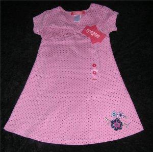 Gymboree Chelsea Girl Pink Polka Dot Dress Sz 3 NWT FREE SHIPPING!!