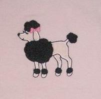 Gymboree Tres Chic Poodle Long Sleeved Shirt Sz 3 NWT FREE SHIPPING!!!