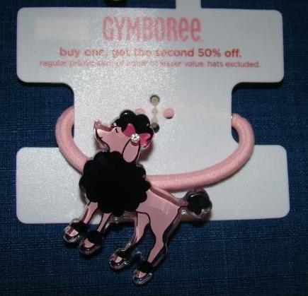 Gymboree TRES CHIC Poodle Hair Pony Elastic NWT FREE SHIPPING!!!