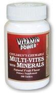 Children's Multi-Vites with Minerals 250 Count
