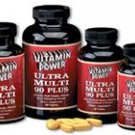 Ultra Multi 90 Plus All-In-One Power-Packed Tablet Multi Vitamin 180 Count