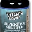 SuperFem Multiple Women¹s Daily Multiple Vitamin & Mineral with Iron and Calcium 90 Count