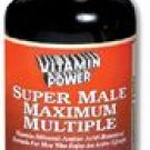 Super Male Multiple Nutrient Tabs For Men Who Enjoy an Active Lifestyle 90 Count