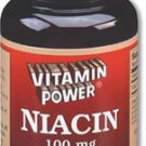 Niacin 100 mg Tablets 100 Count