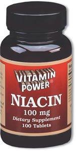 Niacin 100 mg Tablets 100 Count