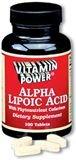 Alpha Lipoic Acid 50 mg. Tablets 100 Count