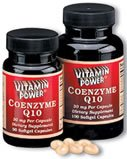Coenzyme Q10 Softgels - 30 mg 100 Count