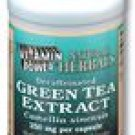 Green Tea Extract Caps 250 mg. Decaffeinated 100 Count