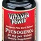 Pycnogenol - 30 mg Tablets French Maritime Pine Bark Extract 90 Ct.