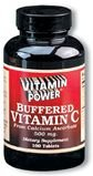 Buffered C 500 mg Calcium Ascorbate 250 Count