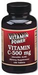 Vitamin C 500 mg Tablets 250 Count