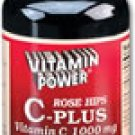 Super Rose Hips Vitamin C Plus 1000 mg Tablets 100 Count