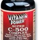 Super Vitamin C 500 mg Complex Tablets 500 Count