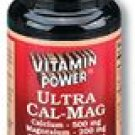 Ultra Cal Mag Tablets 60 Count
