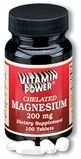 Magnesium 200 mg Tablets 100 Count