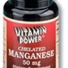 Manganese 50 mg Tablets 100 Count