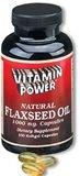 Super Natural Flaxseed Oil 1000mg Softgel Caps 100 Count