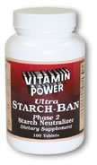 Ultra Starch Ban Phase 2 Tablets 100 Count